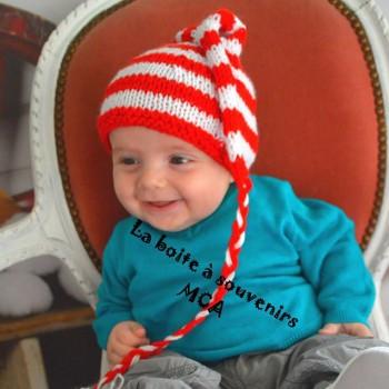 Bonnet lutin spécial Noël