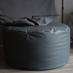 Bean bag en simili cuir