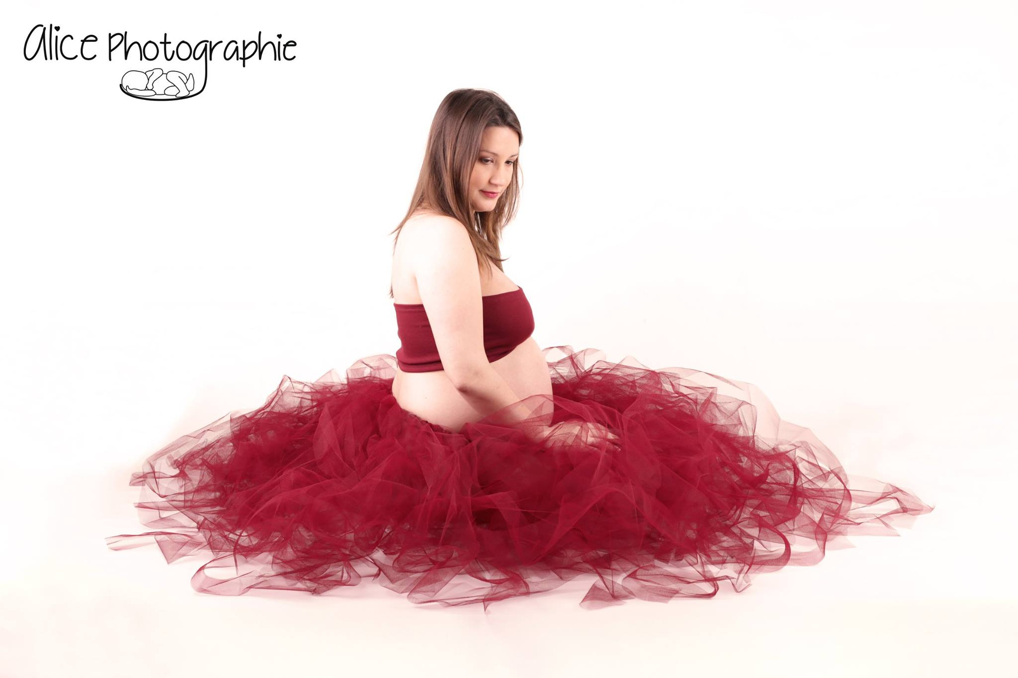 Ensemble tutu shooting grossesse