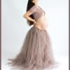 Jupon de tulle extra long spécial shooting grossesse
