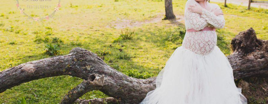 Ensemble robe jupon et haut crochet shooting grossesse photographe