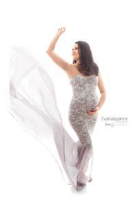 Création robe Leyli pour shooting photographe