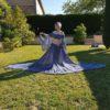 robe-bleue-mousseline